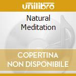 NATURAL MEDITATION                        cd musicale di Ron Allen