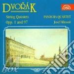 Quintetto x 2 vl, vla e vlc op.1 (b.7), cd musicale di Antonin Dvorak