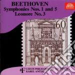 Sinfonia n.1 op.21, n.5 op.67, leonora ( cd musicale di Beethoven ludwig van