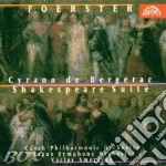 Cyrano de bergerac (suite sinfonica op.5 cd musicale di Foerster josef bohus