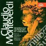Madrigali guerrieri et amorosi cd musicale di Claudio Monteverdi