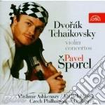 Pavel Sporcl - Violin Concertos - Dvorak / Tchaikovsky cd musicale di Dvorak - tchaikovsky