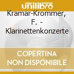 Clarinet concerto cd musicale di Krommer-kramar