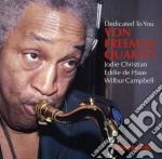 Von Freeman Quartet - Dedicated To You cd musicale di Von freeman quartet