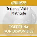 Matricide cd musicale di Void Internal