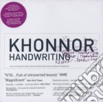HANDWRITING cd musicale di KHONNOR