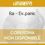 EV.PANIC                                  cd musicale di RA