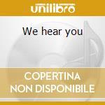 We hear you cd musicale di Luke Vibert