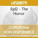 CD - RJD2 - HORROR cd musicale di RJD2