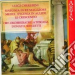 Sinf. in re maj/medea etc - ort,renzetti cd musicale di Cherubini