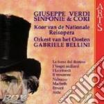 Sinfonie e cori da opere - g. bellini cd musicale di Giuseppe Verdi