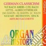 Arturo Sacchetti - Organ History: German Classicism cd musicale di Sacchetti -vv.aa.