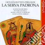 Serva padrona - salomaa,bima, hirsch cd musicale di Pergolesi