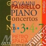 Concerti per pf e orch. vol. 1 - r.spada cd musicale di Paisiello