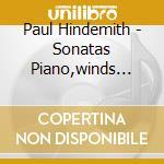 Son.per fiati e pf vol.2^- damerini etc cd musicale di Hindemith