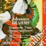 Danze ungheresi (per pf a 4mani)-moreno cd musicale di Brahms