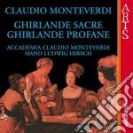 Ghirlande sacre e profane-acc.monteverdi cd musicale di Monteverdi