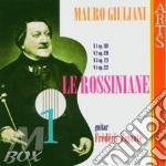 Rossiniane vol. 1^ - f. zigante (chit) cd musicale di M. Giuliani