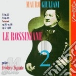 Rossiniane vol. 2^ - f. zigante (chit) cd musicale di M. Giuliani