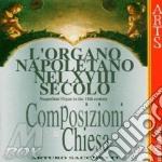 Comp.sacre per org. del '700 napoletano cd musicale di Artisti Vari