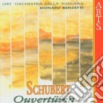 Ouvertures - o.r.t. d. renzetti cd musicale di Schubert