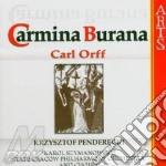 Carmina burana - penderecki cd musicale di Carl Orff
