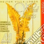 Choro n.2,duo, bachiana etc-griminelli cd musicale di Villa-lobos