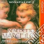 Sonate op.2 vol.1^-acc.monteverdi,hirsch cd musicale di B. Marcello