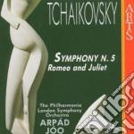 Sinf. n. 5 / romeo e g. - joo cd musicale di Chaikowsky