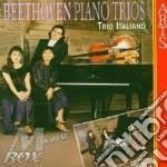 Trii per pf. vol. 1^ - trio italiano cd musicale di Beethoven