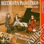 Beethoven, L. V. - Piano Trios No.1 & 2 Op.1 cd musicale di Beethoven