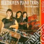 Trii per pf. vol. 3^ - trio italiano cd musicale di Beethoven