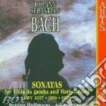 Son. per vla da g. e clav.-hoffmann,fedi cd musicale di Johann Sebastian Bach