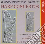 Claudia Antonelli - Harp Concertos cd musicale di Etc Handel/boieldieu
