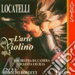 Arte del vln op. 3 v.4^ - r.bonucci cd musicale di Locatelli