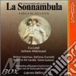 Bellini, G. - La Sonnambula -hl- cd musicale di Bellini