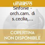 Sinfonie - orch.cam. di s.cecilia, vlad cd musicale di Pergolesi