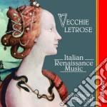 Vecchie letrose - sintagma musicum cd musicale di Artisti Vari
