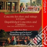 CONCERTO FOR OBOE AND STRINGS cd musicale di MARCELLO