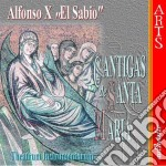 Cantigas de s.maria-theatrum instrument. cd musicale di Alfonso x