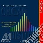 Organ history: trascr.francesi-sacchetti cd musicale di Sacchetti - vv.aa.