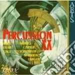 Percussion xx (perc. xx sec.) - faralli cd musicale di Faralli j. - vv.aa.