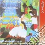 Hist.du tango/5 piezas etc-catemario etc cd musicale di Astor Piazzolla