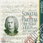 Son. e part.vln solo vol. 1^ - b.brooks cd musicale di Johann Sebastian Bach