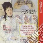 Integr. pf vol. 3^ - p. spada cd musicale di Sgambati