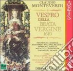 Vespro beata vergine-pennicchi, fasolis cd musicale di Monteverdi