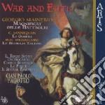 Gian Paolo Fagotto - War And Faith cd musicale di Mainerio