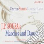 Marce e danze -united states marine band cd musicale di J.p. Sousa