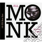 ALL MONK - RIVERSIDE ALBUMS 16CD BOX      cd musicale di Thelonious Monk