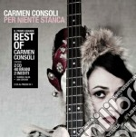 Per niente stanca (the best of) cd musicale di Carmen Consoli